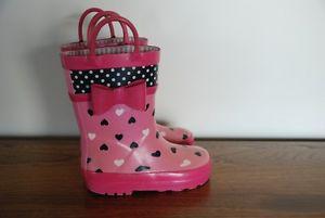 """""""Joe Fresh"""" rain boots Toddler/Girls Size 8"""