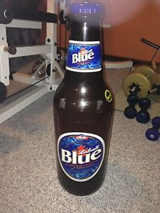 Labatt blue coin bank