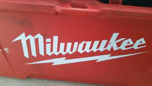 Large Milwaukee Tool Kit with Tools and Other Stuff Has