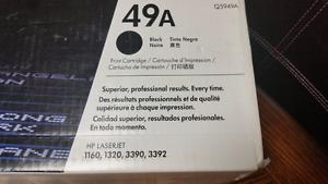 Laser Jet Cartridge New Never used Hewlett Packard 49A Laser