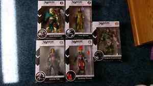 Magic the Gathering Legacy action figure set