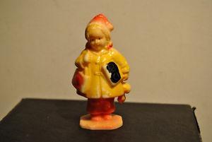 Marx Hard Plastic Little Girl Little School Girl ABC Figure