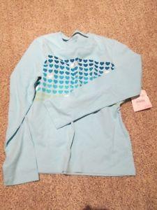 *NEW* Girls Tourquoise Long Sleeve Shirt
