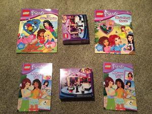 *NEW* Lego Friends – Books, Books/Lego, Lego