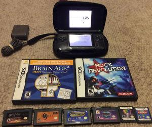 Nintendo DS With Charger and 8 Games! Child Friendly Bundle!