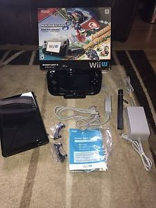 Nintendo wii u 32gb with box all cable and accessories