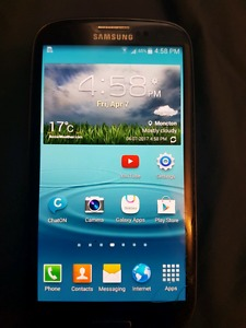 PERFECTLY WORKING UNLOCKED SAMSUNG GALAXY S3 ONLY $50!!!