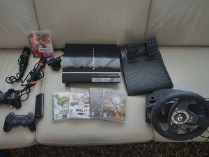 Playstation 3 PS3 with Games and Accessories