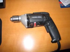 """Porter Cable Variable speed 3/8"""" corded drill (Made in USA)"""