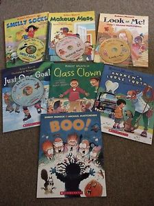 Robert Munsch Books and Audio Lot