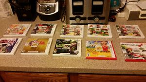 Selling 9 3ds games all in great condition (with cases)