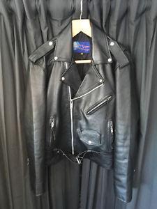 Size 42 Black Leather Jacket