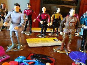 Star Trek Vintage Action Figures.