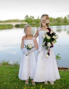 Two Flower Girl Dresses