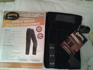Two pairs Of Brand New Pioneer Work Pants