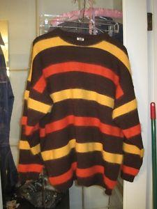 Vintage Brand New Lucia Germany Angora Wool Mix Sweater