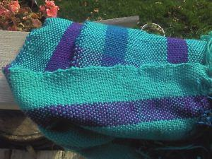 Wanted: Lost Scarf - Woven purpl/teal scarf lost/stolen near