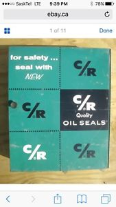 Wanted: Wanted:Green C/R oil seals cabinet