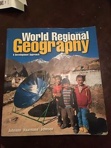 World Regional Geography: A Development Approach