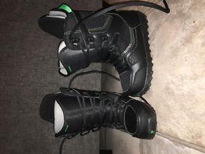 size 9 burton snowboard boots