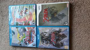 wii u games for sale or trade