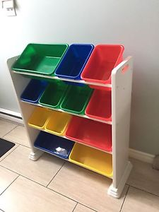 12 bin toy organizer