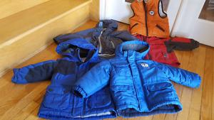 18m-2t boys jackets and snow pants