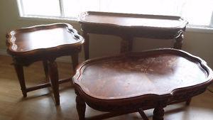 4 pc table set