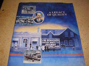 A Legacy Of Quality J. M. Schneider Hard Cover Book