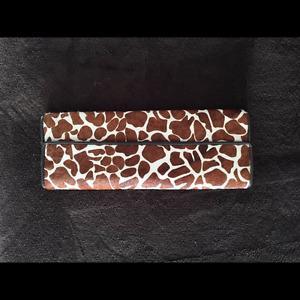 ALDO Giraffe Print Wallet / Purse New w/ Price Tag