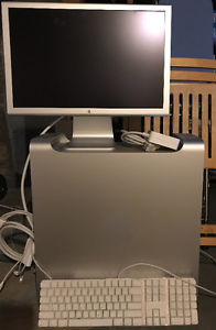 Apple G5 Tower and 20 inch Monitor