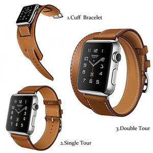 Apple Watch 42mm Leather Strap Set