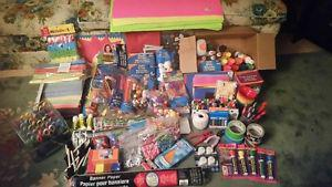 Arts and Crafts pkg-New condition