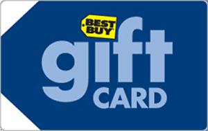 Best Buy gift card (40$ cash for 50$ card)