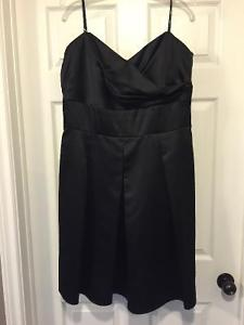 Black After six bridesmaid dress