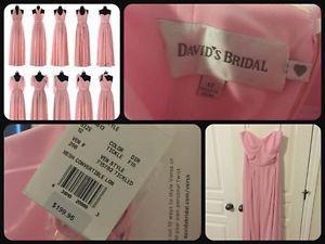 Brand New w/tags David's Bridal Dress