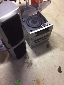 CD Player and Turntable for sale