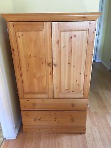 Canwood pine wardrobe