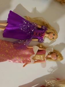 Disney Princess set and Beast dolls