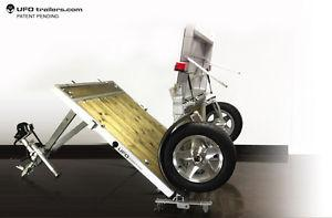 Folding Utility Trailer / WORK BENCH!..........YES!!
