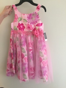 Girls 6X Dress - never worn, still has tags