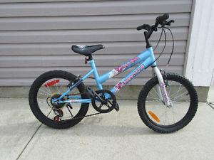 "Girls Bike Supercycle 18"" wheels 5 speed"