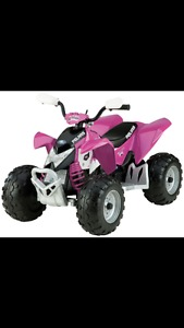 Girls pink quad