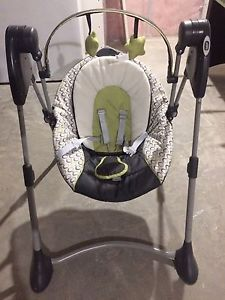 Graco swing by me portable baby swing