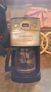 Grind and brew coffee pot