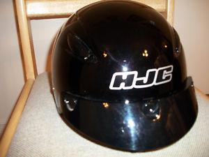 HJC CL-21 Half Helmet Black.. Excellent Shape !