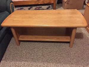 Honey Wooden Coffee Table