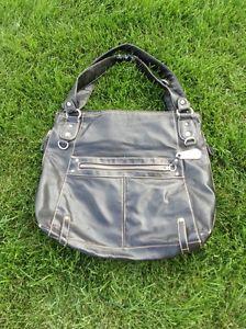 Ladies Black Leather Purse