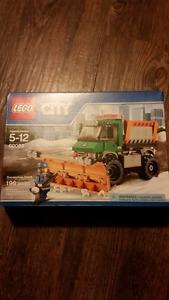 Lego snowplow set