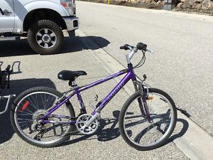 "Like new 24""Infinity mountain bike"